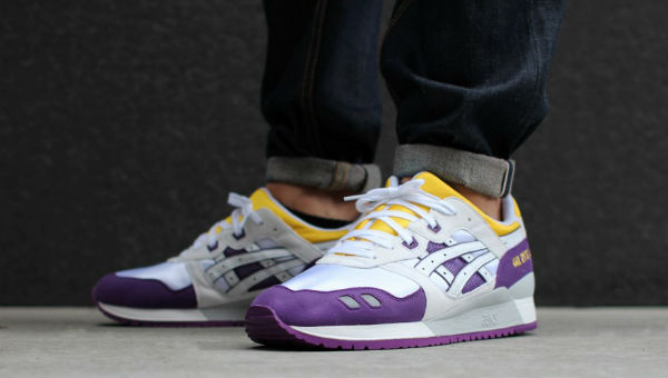 asics gel lyte 3 white yellow
