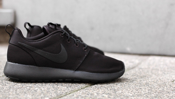 Nike Roshe One Men's Running Shoes Midnight Navy/White/Black
