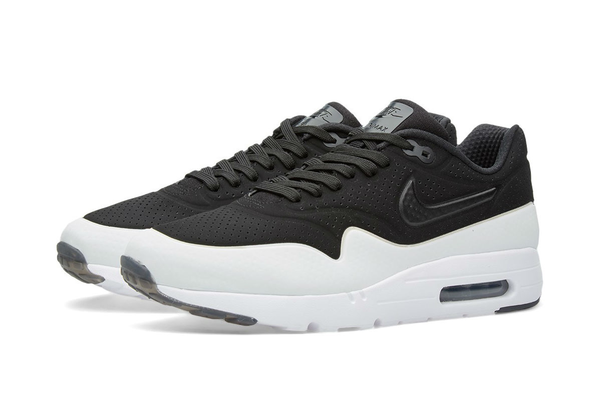 nike air max 1 ultra moire black white available now cult edge. Black Bedroom Furniture Sets. Home Design Ideas