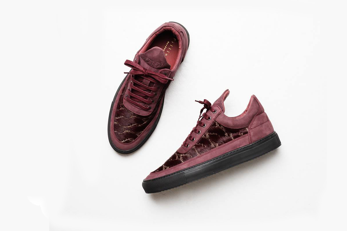 filling pieces low top pony woven burgundy cult edge. Black Bedroom Furniture Sets. Home Design Ideas