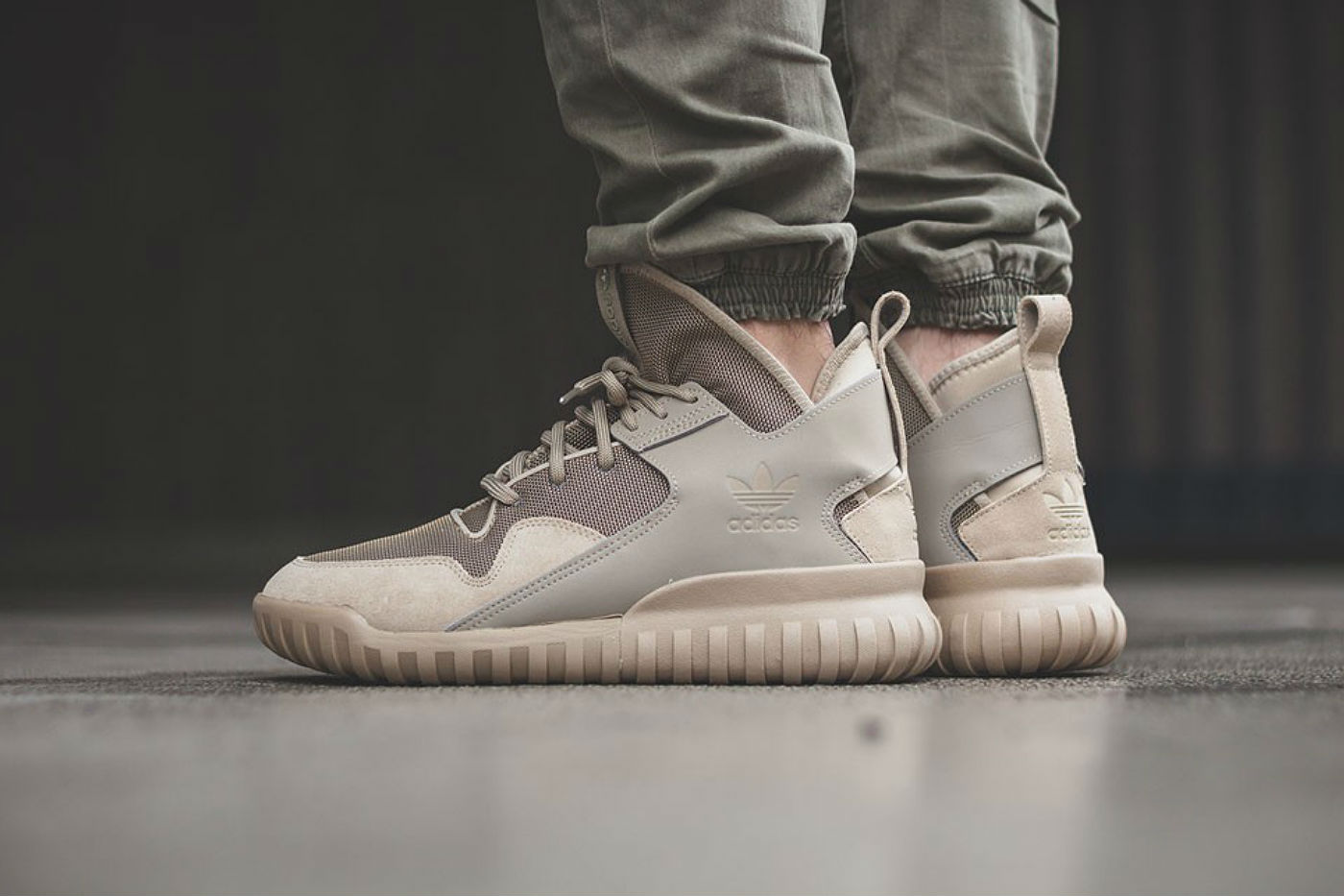 well wreapped Adidas Originals Tubular X S74927 Sneakers Gray