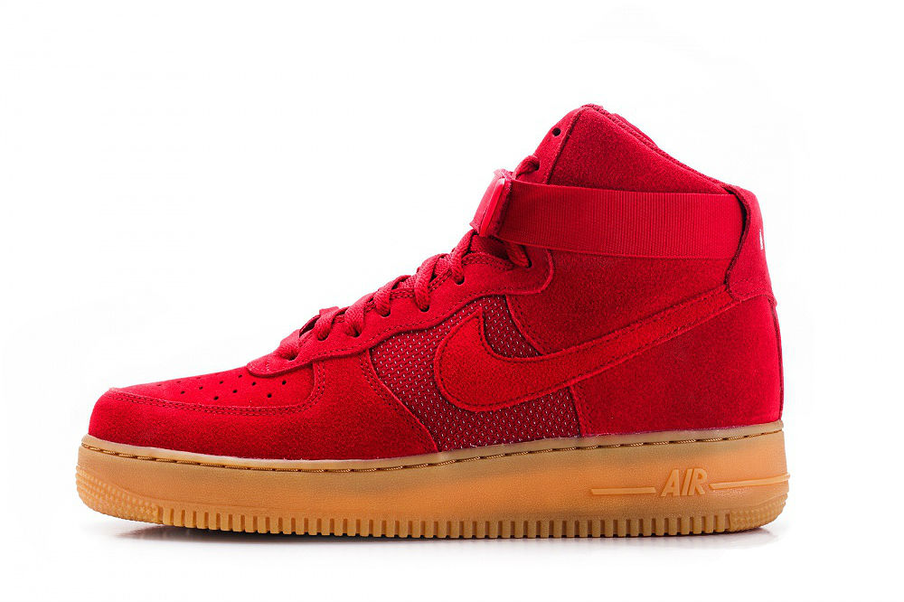 nike air force 1 high 07 lv8 gym red cult edge. Black Bedroom Furniture Sets. Home Design Ideas