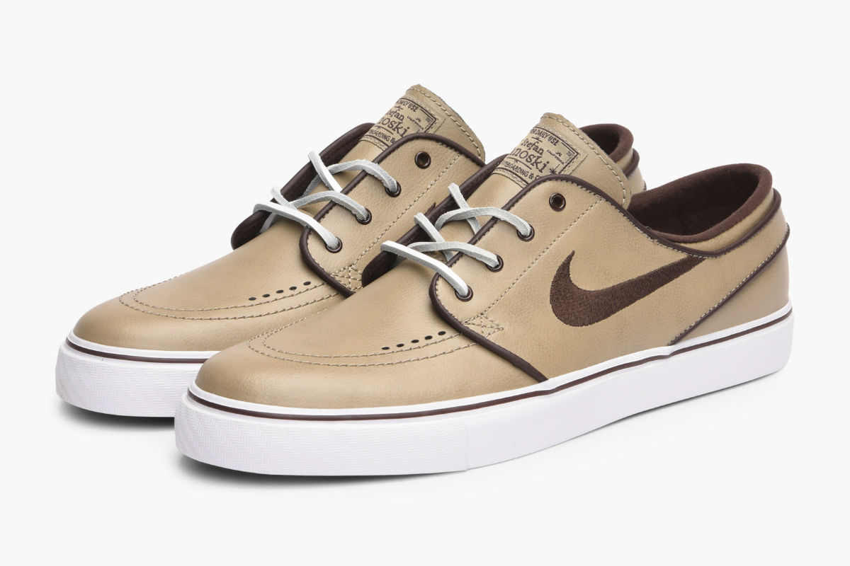 Coffee Coloured Nike Shoes
