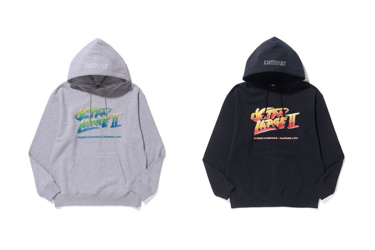 x-large x street fighter 2017 collection
