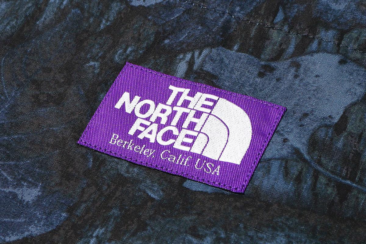 logo the north face purple label logo